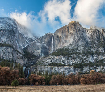 Yosemite Valley never disappoints. If you're running a faster pace, we recommend slowing down to take in the iconic views.