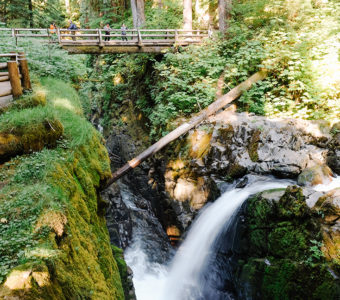 The Sol Duc River, located in Olympic National Park.