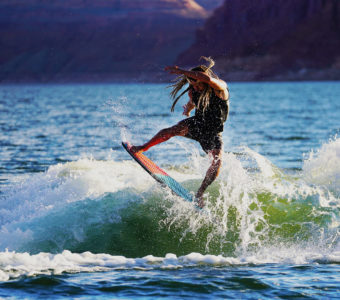 lake powell waterskiing