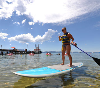 Grab your paddleboard for some social distancing water activities.